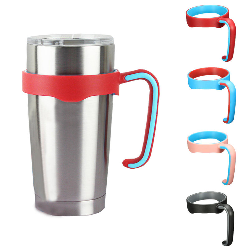 ZELU Universal Standard Multicolor <font><b>Cup</b></font> Holder For 20oz <font><b>Yeti</b></font> <font><b>Cup</b></font> Stainless Steel Insulated Tumbler Mug Handle Drop