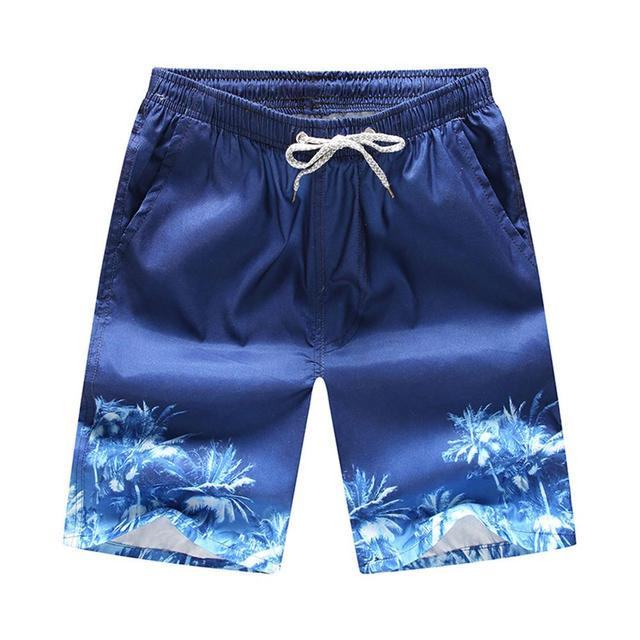 96daa30db4 Men Printed Beach Shorts Quick Dry Running Shorts Swimwear Swimsuit Swim  Trunks Beachwear Sports Shorts Board Shorts Plus Size