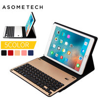 Removeable For IPad Pro 10 5inch Tablet Keyboard Leather Case Ultra Thin Wireless Bluetooth Aluminum For