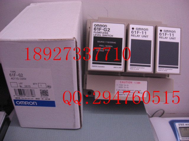 [ZOB] New original omron Omron level switch 61F-G2 AC110 / 220 [zob] 100 new original authentic omron omron level switch 61f gp n ac220v 2pcs lot