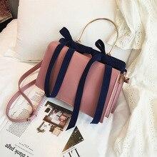 Korean Version Trapezoidal Ladies Bag Designer Bags Famous Brand Women 2019 Velvet Female One Shoulder Slanting