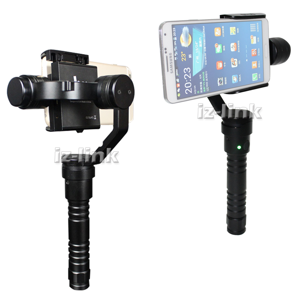 ALUMOTECH Beholder Handheld Stabilizer TRD 3 <font><b>Axis</b></font> Gimbal For Mobile phone SmartPhone