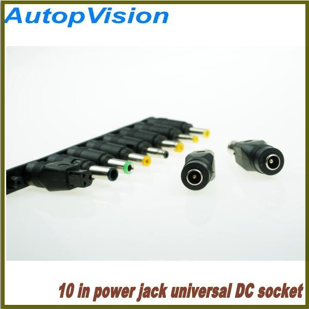10 sets 1x 10 In DC Socket 5.5x2.1mm connectors Jack for Universal Laptop Notebook Power Change Converter Plug etc 500pcs 5pin 2 5mm x 0 7mm dc notebook socket female cctv charger power plug diy