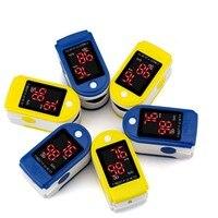 Chăm Sóc sức khỏe Finger Pulse Đo Oxy nhi trẻ sơ sinh Oxy Trong Máu SPO2 Oxygen BPM kỹ thuật số Cầm Tay một bệnh viện Ngón Tay Saturation Monitor