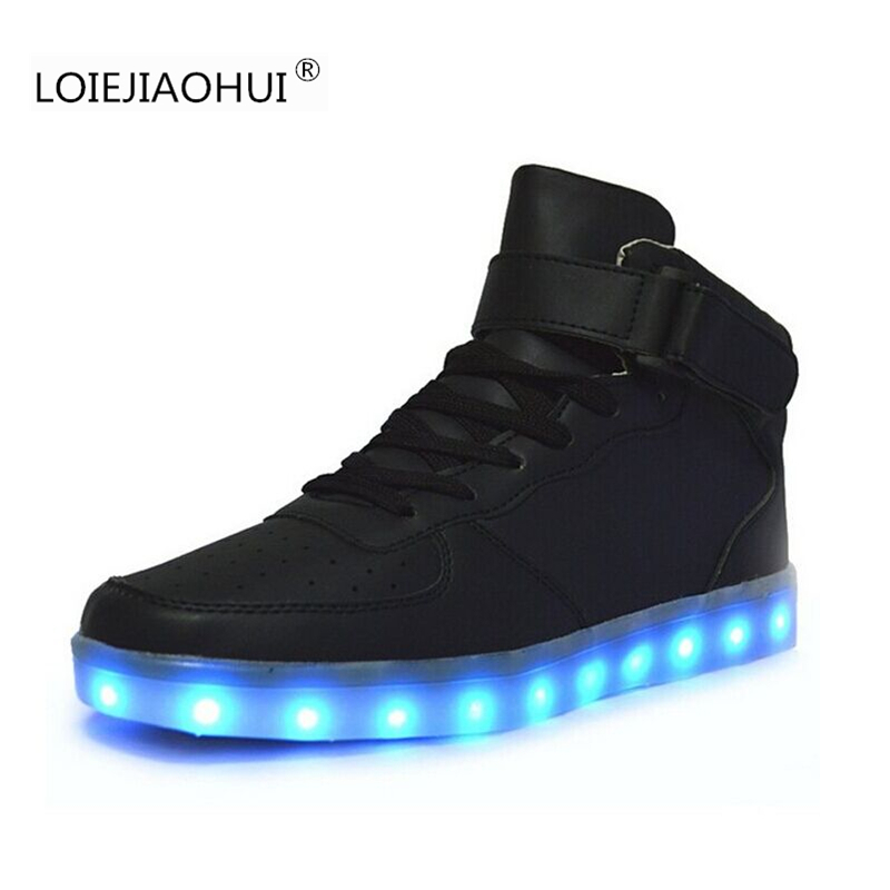 Hot Sell Luminous LED Shoes For Adults 2017 Spring Autumn font b Fashion b font font
