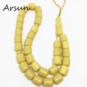 Image 5 - 100% オリジナル樹脂 33 ビーズ黄色イスラム教徒数珠イスラム Tasbih アッラーの祈りロザリオ Tesbih イスラム Misbaha