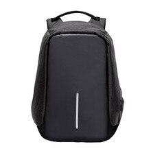 Деловые мужчины ноутбук рюкзаки Анти-Вор Водонепроницаемый Устойчив дорожная сумка рюкзак мужской высокое качество путешествия softback Mochila 2017