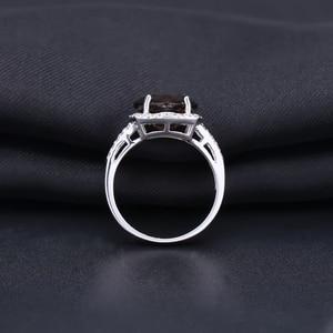 Image 5 - GEMS บัลเล่ต์ธรรมชาติ Smoky ควอตซ์ชุดเครื่องประดับสำหรับงานแต่งงานของผู้หญิง 925 เงินสเตอร์ลิงต่างหูแหวนชุดเครื่องประดับ