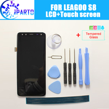 Leagoo S8 lcd ディスプレイ + タッチスクリーン、 100% オリジナルのテスト液晶スクリーンデジタイザガラスパネルの交換 leagoo S8