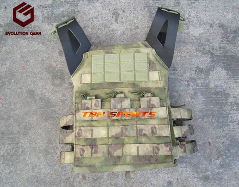 Evolution Gear EG 500D Cordura Vest Jump Plate Carrier JPC Vest A TACS FG vest Free