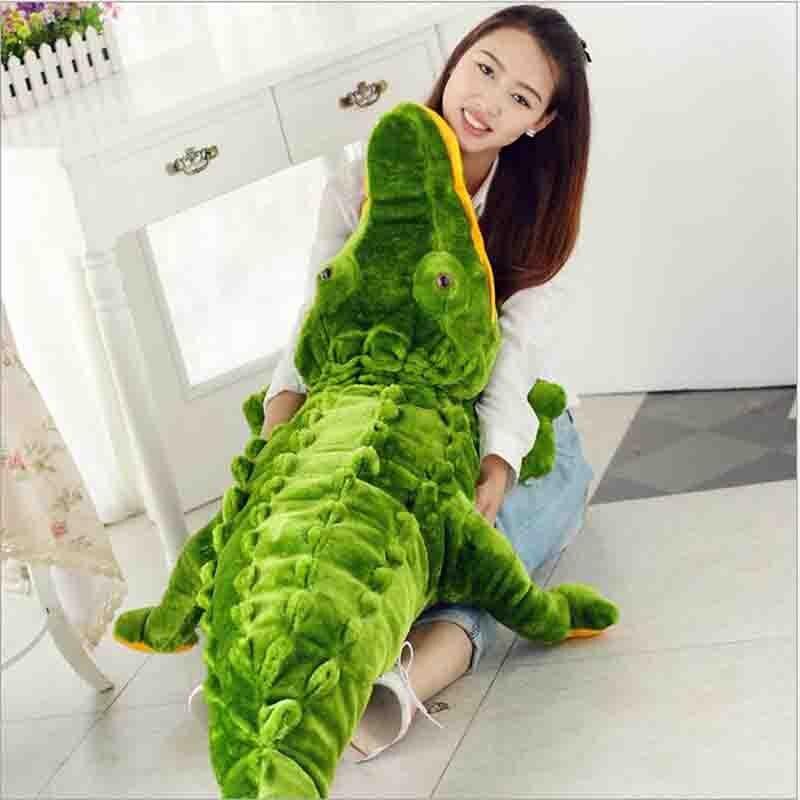 100 cm nouveau jouet en peluche en peluche pour garçon enfants anniversaires cadeau Crocodile en peluche