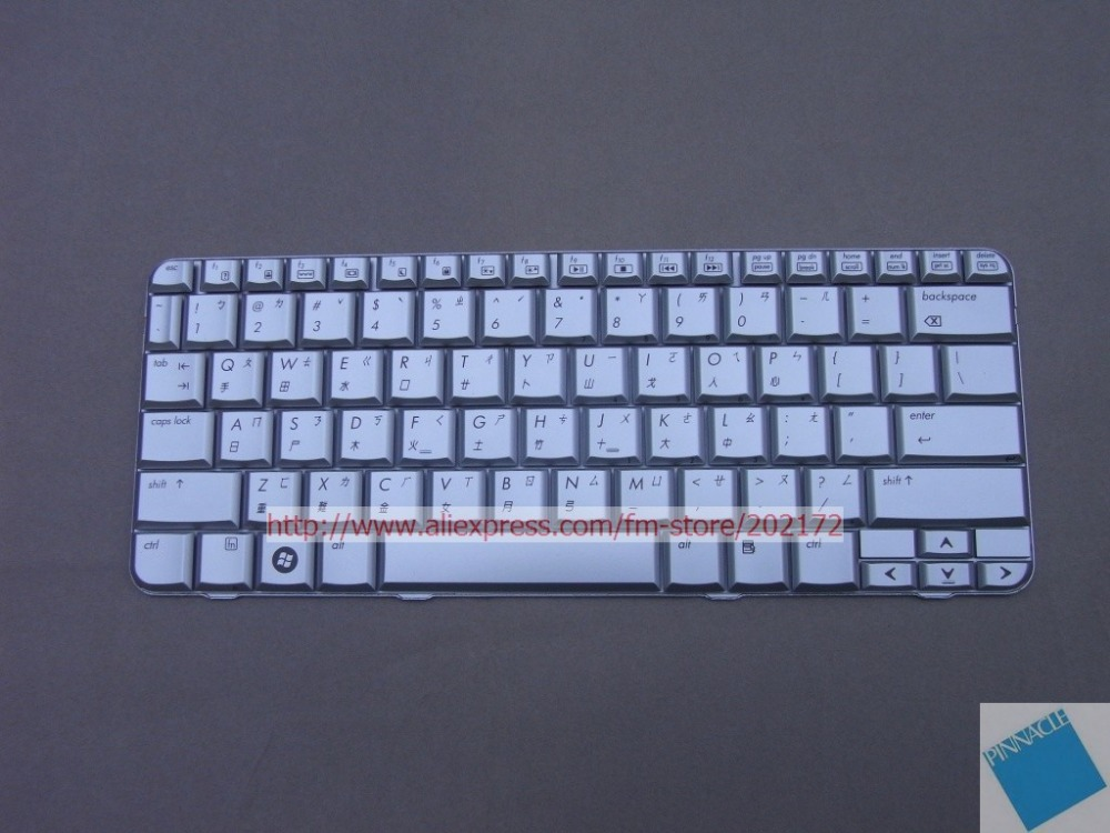 Brand New Silver Laptop Taiwan Layout Keyboard 464138-AB1 484748-AB1AETTS#00010 For HP Pavilion TX2000 100% compatiable us цена и фото
