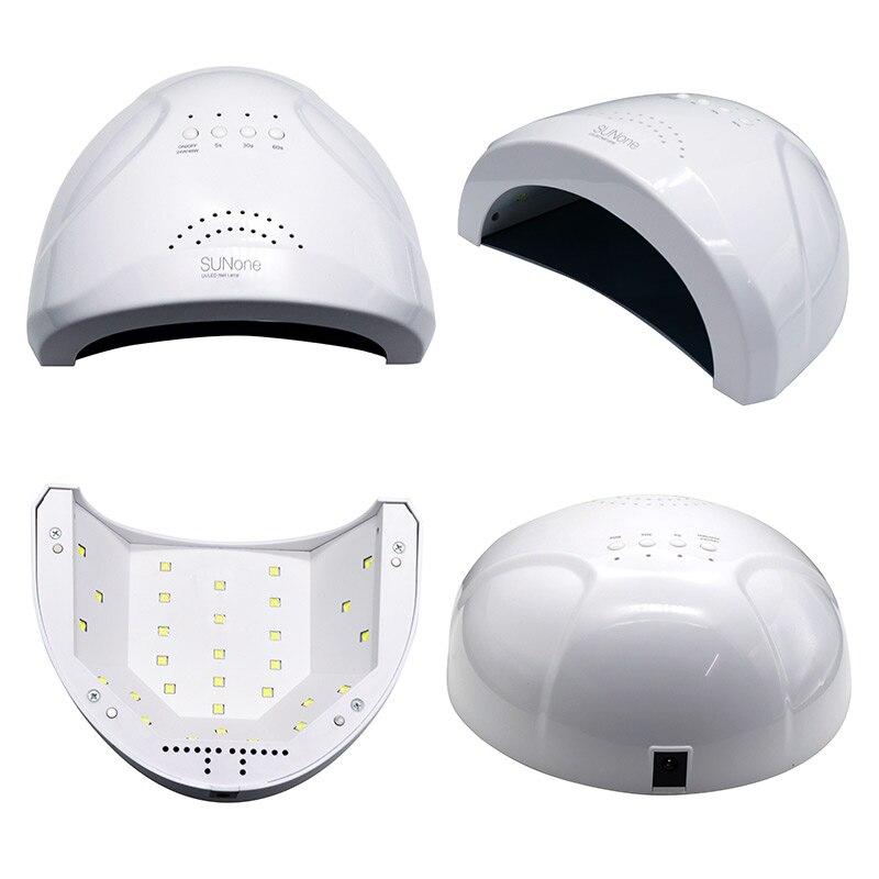 48W UV Lamp Nail Polish Dryer 30 LEDs Light 5S 30S 60S Drying Fingernail&Toe nail Gel Curing Nail Art Dryer Manicure for Sunone