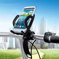 Universal 360 Degree Rotation Bicycle Phone Holder Bike Stand Bracket Phone Holders For iPhone 5S 6 6S 7 Plus GPS Xiaomi LG