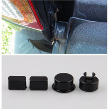 Four Pcs for Dodge Ram for Ford F Series Trucks Tailgate Hinge Pivot Bushing Insert Kit ABS Door Hinge Bushings(China)