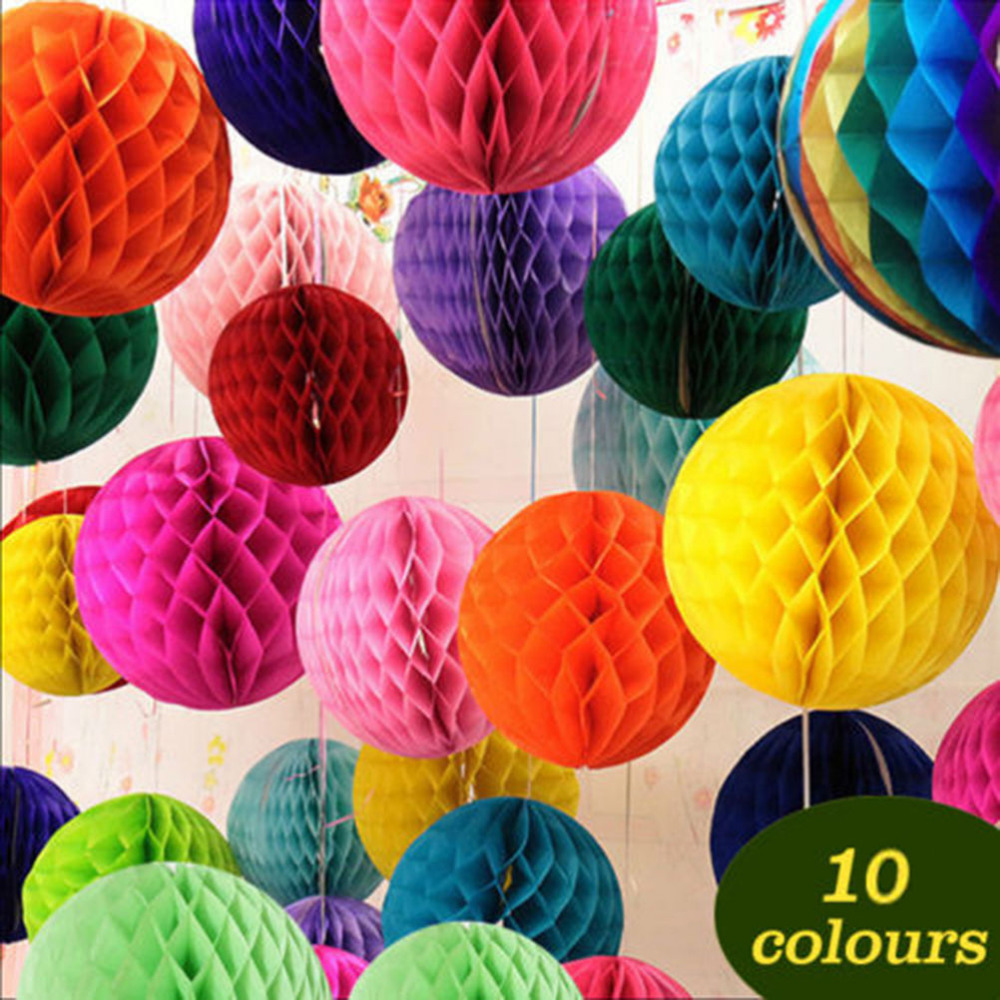Compare prices on tissue paper flowers online shoppingbuy low paper flower ball 15cm tissue paper flowers balls pom poms honeycomb lantern party decor craft wedding dhlflorist Image collections