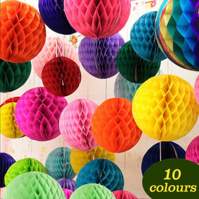 Aliexpress buy paper flower ball 15cm tissue paper flowers paper flower ball 15cm tissue paper flowers balls pom poms honeycomb lantern party decor craft wedding mightylinksfo