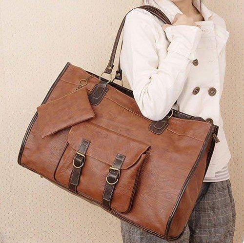 2017 Popular Big Size Handbags  Women PU Leather Handbag Shoulders Bags Tote Messenger Bag Large Capacity Purse
