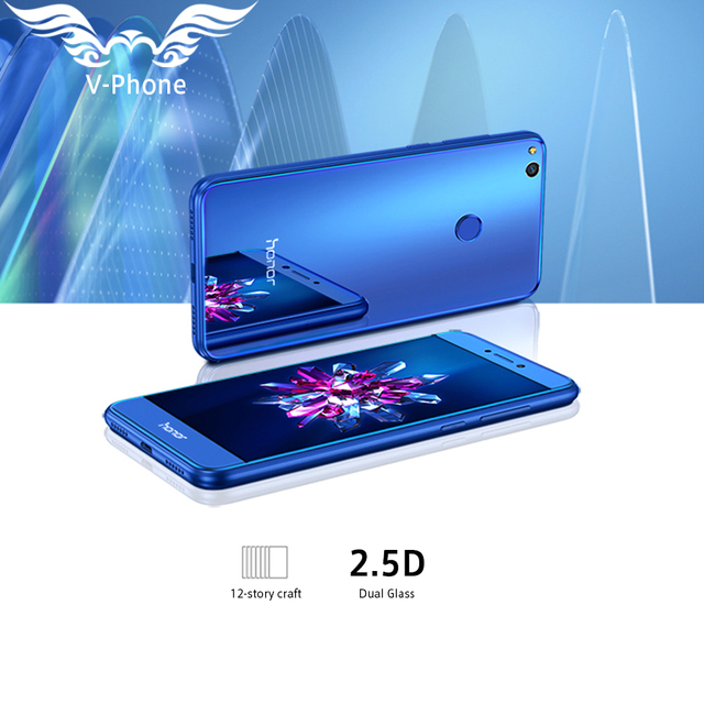 2017 New Original Huawei Honor 8 Lite 4G LTE Mobile Phone 3GB 32GB Kirin 655 Dual SIM 5.2 inch 12MP Camera 3000mAh Fingerprint