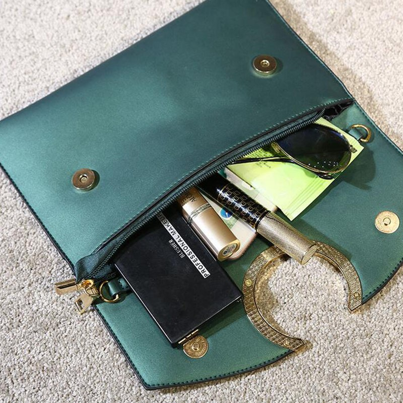 2018 New Arrival pu Leather Women Fashion Envelope Bag Shoulder Handbag Crossbody Messenger Lady Bags Purses PP-731 4