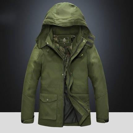 Новая Осенняя Модная тонкая куртка бомбер, Мужская толстовка на молнии с капюшоном, уличная Мужская ветровка - 2