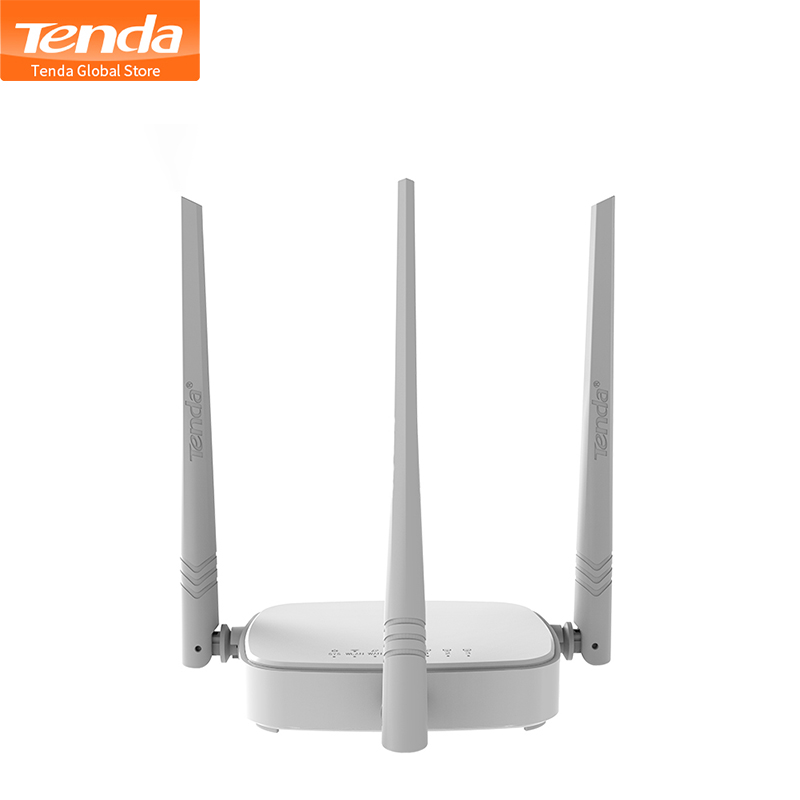 Tenda Repeater Wifi-Router 300mbps Mode Wi-Fi RJ45 3LAN Wireless Multi-Language 1WAN