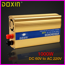 Car Power Inverter DOXIN 1000W Household Car Inverter Converter DC 60V to AC 220V Car Battery Charger Adapter Power Supply N045
