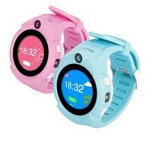 Хорошее Дети умные часы безопасный-хранитель sos-вызов анти-потерянный Мониторы реального времени База станция расположение GPS часы smartWatch для малыша