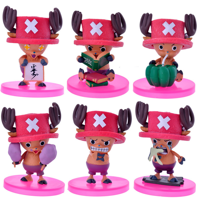 Anime ONE PIECE Figures Toy Kawaii 6 Types Tony Chopper Kids Toys Children Adult Birthday Christmas Gifts