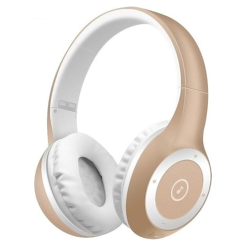 Sports Folding Wireless Bluetooth Music Headphone Subwoofer Supports TF Card Wireless Bluetooth Headband Running Gym Headset portable bluetooth v3 0 wireless headband headphone orange white href
