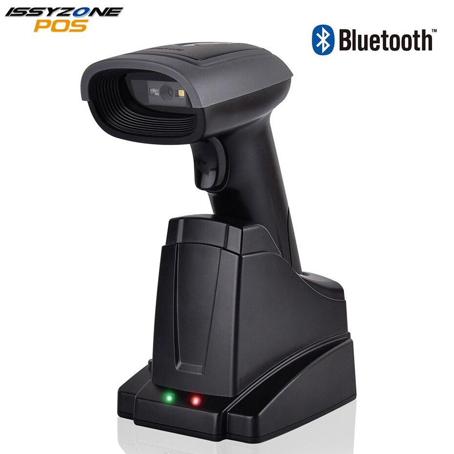 Беспроводной 2D QR Bluetooth сканер штрих-кодов 3 в 1 считыватель штрих-кодов для Android/iPhone/iPad/Windows/Mac с автоматическим сканированием