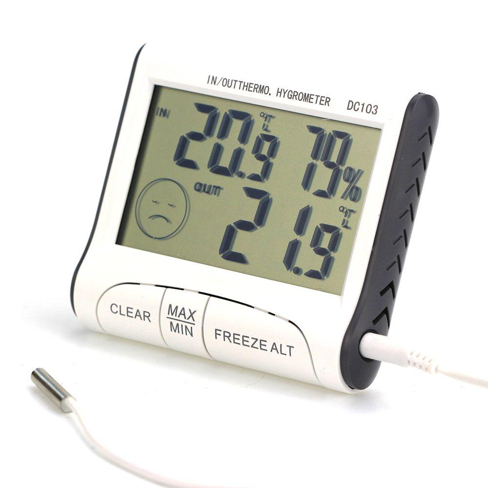 Termómetro De Coche LCD Temperatura Interior Exterior C//F Digital HOGAR NUEVO!!!