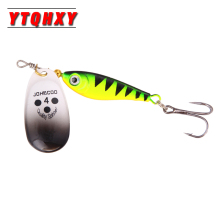 1Pcs Minnow Spinner Fishing Lure Metal Spoon Bait Long Casting 11g 15g 20g Artificial Hrad Baits Longcast Lures WQ194