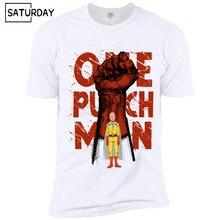 ANIME One Punch Man Printed Men T Shirt