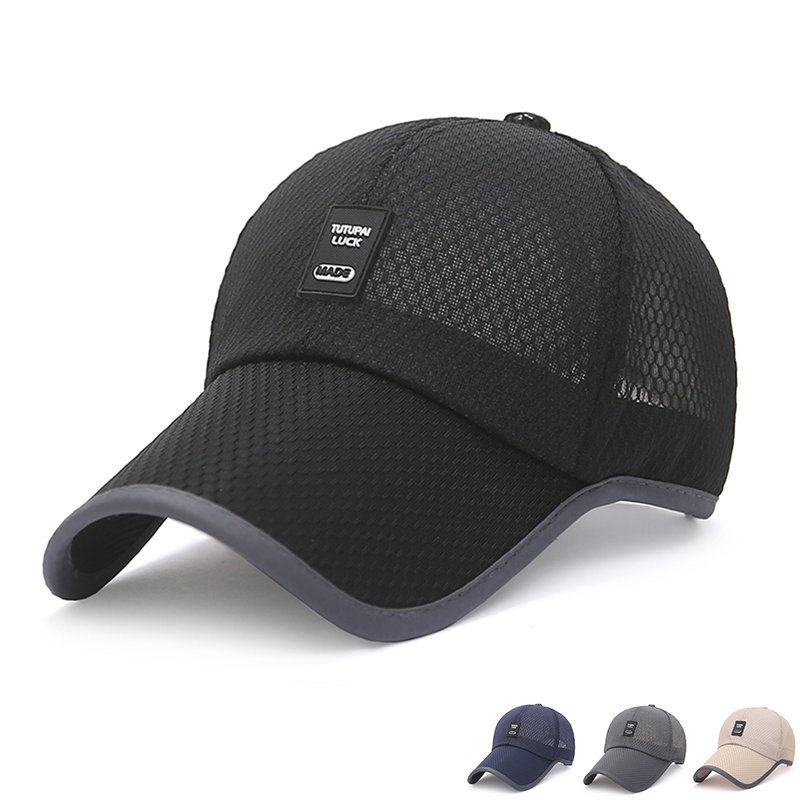 5550aeabd348a fashion baseball cap hat men running climbing trekking hiking tactical  cyclist sport fishing man hat solid cap adjustable summer