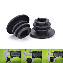 26Mm X 16Mm 2020 Zwart 1 Paar Fiets Mtb Mini Rubber Grip Stuur Bar End Pluggen Stoppers Caps(China)