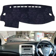 Flanel Dashmats Dashboard Covers Dash Pad Auto Mat Tapijt voor Nissan Grote Livina X Gear Geniss 2007 2009 2012 2013 2014 2015