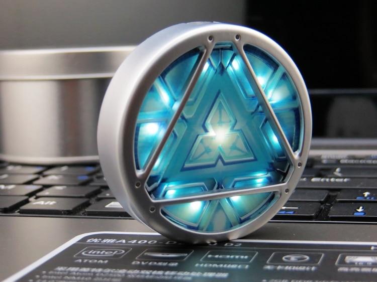 2016Hot! vente Iron MAN 3 ARC REACTOR LED Flash USB Flash lecteur 8 GB 16 GB 32 GB 64 GB Pen Drive USB Pendrive Livraison gratuite