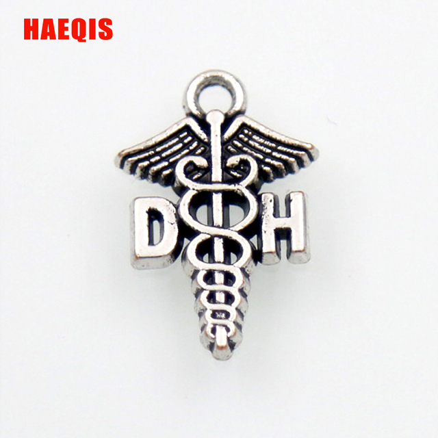 Aliexpress Buy Haeqis Trendy Vintage Caduceus Medical Symbol