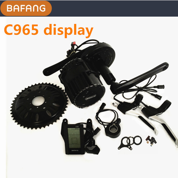 Free shipping ! C965 display Bafang BBS03 48v 1000w mid drive motor electric bike kit bafang 8fun bbshd 1000w bbs hd 1000w bbs03 mid crank drive motor for diy electric bike conversion kit electric bicycle kit