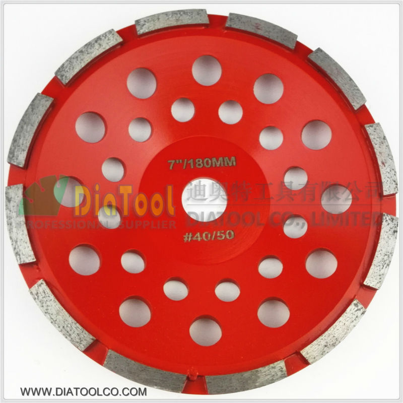DIATOOL 7 Inch (180mm) Single Row Cup Wheel For Concrete, Grinding Disc, Grinding Wheel, Bore 22.23mm видеоигра бука saints row iv re elected