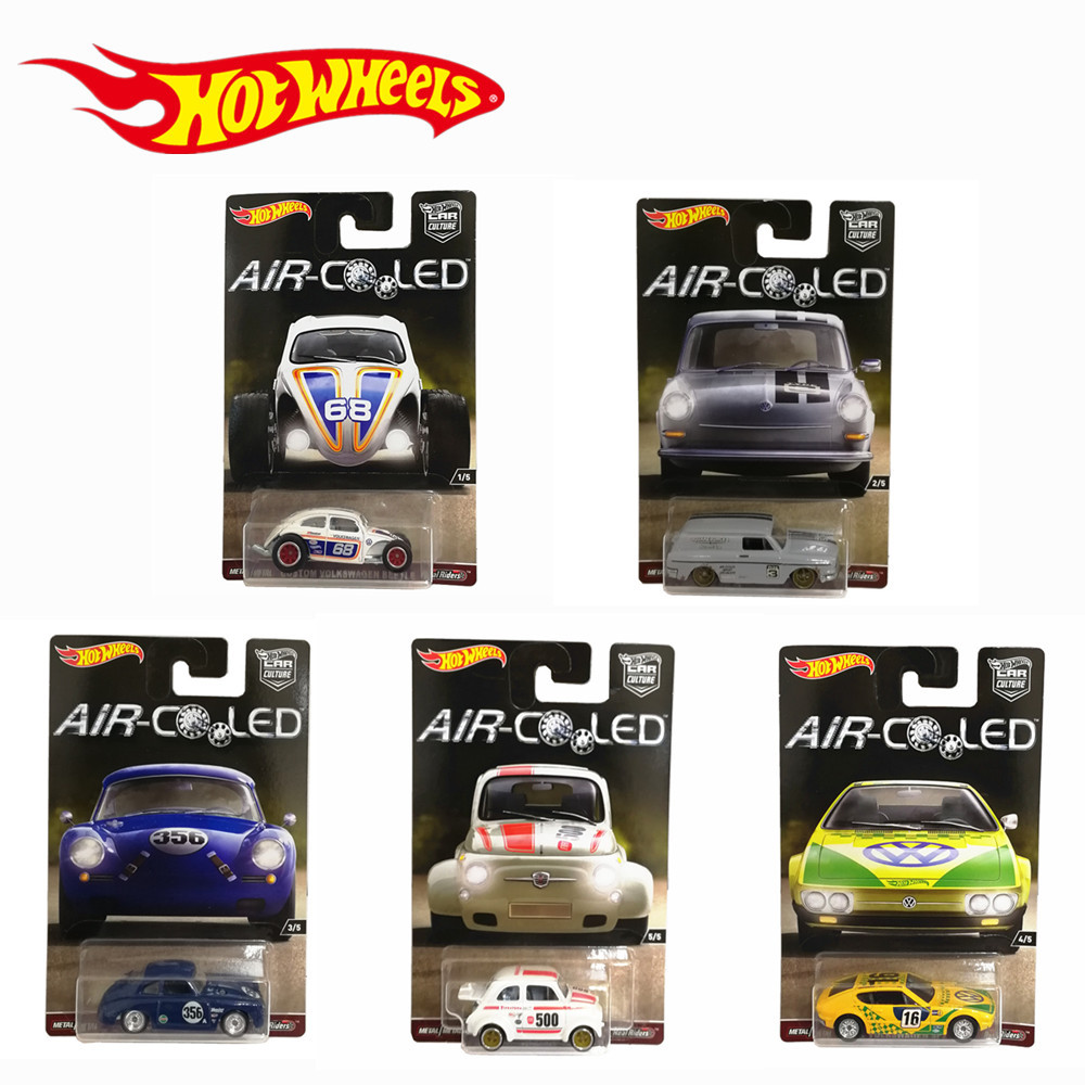Hot Wheels 1:64 Sports Car Air Coled Collective Edition Metal Material Race Car Collection Alloy Car Gift For Kid