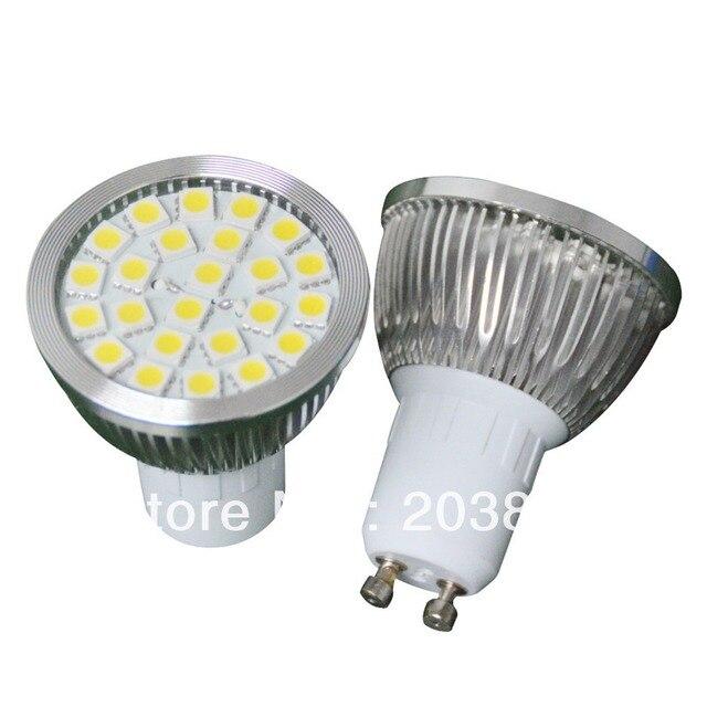 Free Shipping E27/GU10/MR16 24 LED 5050 SMD Cool/Warm White Light Bulb LE067 Lamp Spot Light
