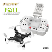 Upslon FQ777 FQ11W Mini Pocket WIFI FPV Drone Headless Modo 0.3MP Cámara de ALTA DEFINICIÓN 2.4G RTF RC Quadcopter 6-axis Nano Dron Quadrocopter