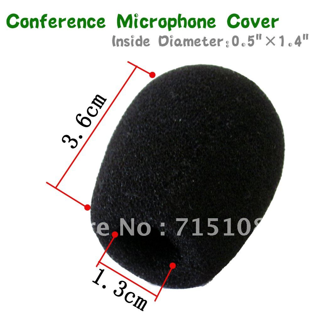 FREE SHIPPING 50pcs/LOT Conference Microphone Windscreen