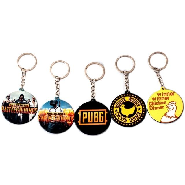 Popular Game Playerunknown S Battlegrounds Acrylic Keychain Pubg