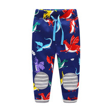 2017 new Boys Cotton Pants kids Trousers Jumping meters Brand Baby Clothes Boy Sweaterpants Print Kids Leggin top quality pants