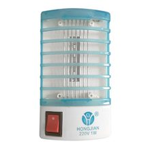 LED Socket Electric Mosquito Fly Bug Insect Trap Night Killer Lamp Zapper EU Plug PK01800(China)