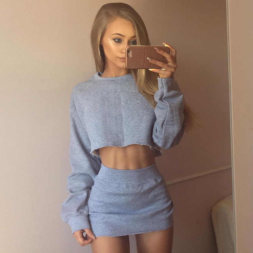 39997d16eb4 ... shorts bandeau bra tube tops female tracksuit outfit two. RELATED  PRODUCTS. 2 piece set women suit crop top skirt set autumn fall mini skirt  female ...