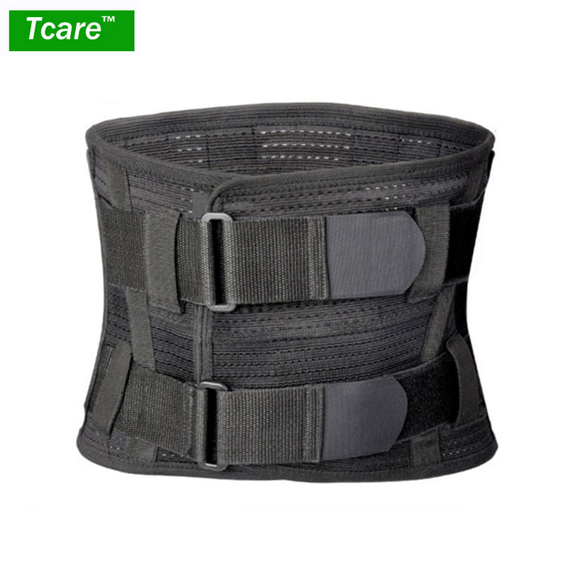 Tcare Lumbar Lower Back Brace and Support Belt - for Men & Women Relieve Lower Back Pain with Sciatica, Scoliosis, Herniated neoprene orthopedic back brace belt lumbar back support brace waist band relieve lower back pain aft y006